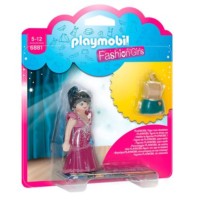 Mini-Figuras-Playmobil---7-Cm---Fashion-Girls---Moda-de-Festa---6881---Sunny