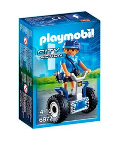 Playmobil---City-Action---Mini-Figura-Policial-com-Balance-Racer---6877---Sunny