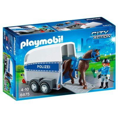 Playmobil---City-Action---Trailer-da-Policia-com-Cavalo---6875---Sunny