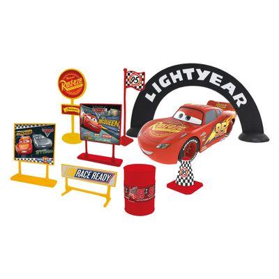 Playset-de-Corrida---Relampago-McQueen---Carros-3---Disney---Toyng