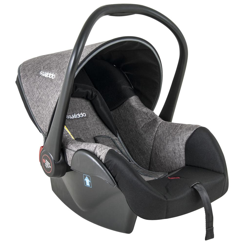 Bebê Conforto - De 0 a 13 Kg - Casulo II - Melange - Grafite - Kiddo