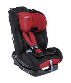 Cadeira-Para-Auto---Ate-25-Kg---Crescer---Preto-e-Vermelho---Kiddo