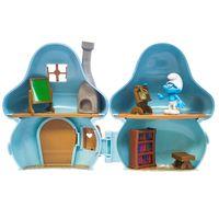 Playset-e-Mini-Figuras---Smurfs---Casa-Cogumelo-dos-Smurfs---Sunny