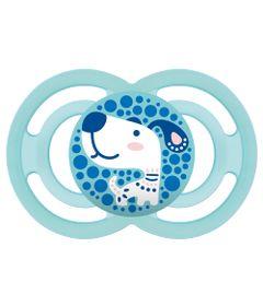 Chupeta-Perfect-Silicone---Azul---Cachorro---MAM