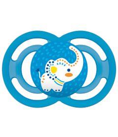 Chupeta-Perfect-Silicone---Azul---Elefante---MAM