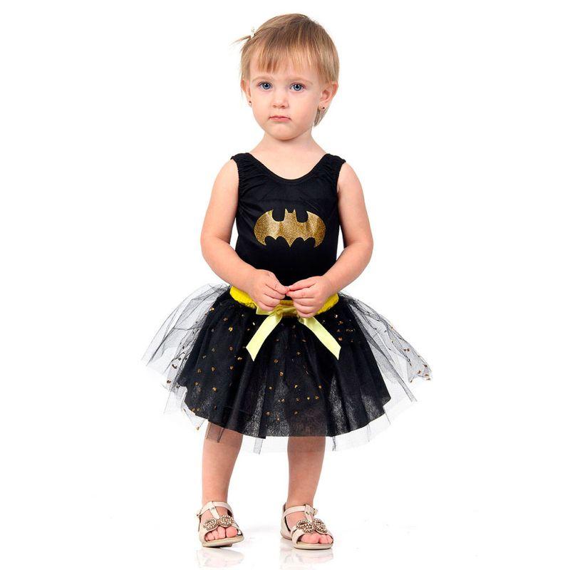 548b251405 Fantasia Bebê - Dress Up - DC Comics - Liga da Justiça - Batgirl -  Sulamericana