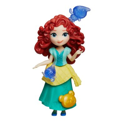 Mini-Boneca-com-Acessorios---Disney-Princesas---Little-Kingdom---Merida---Hasbro