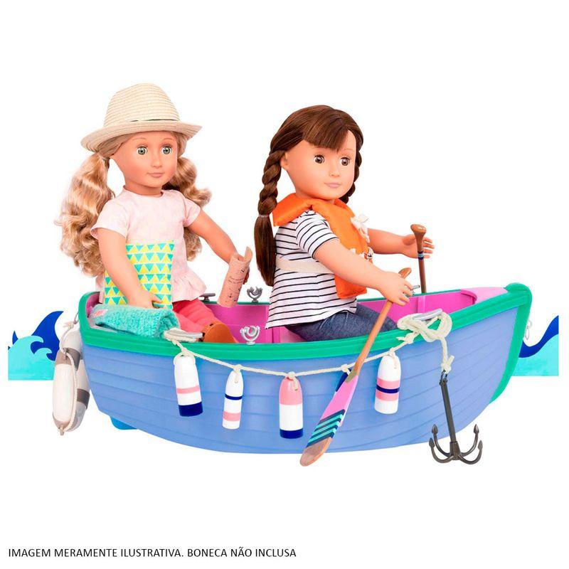 6e8e59d20 Acessórios para Bonecas - Our Generation - Barco a Remo e Conjunto de Pesca  - Ri Happy Brinquedos