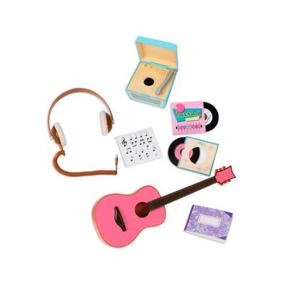 Acessorios-para-Bonecas---Our-Generation---Conjunto-Musical-com-Violao