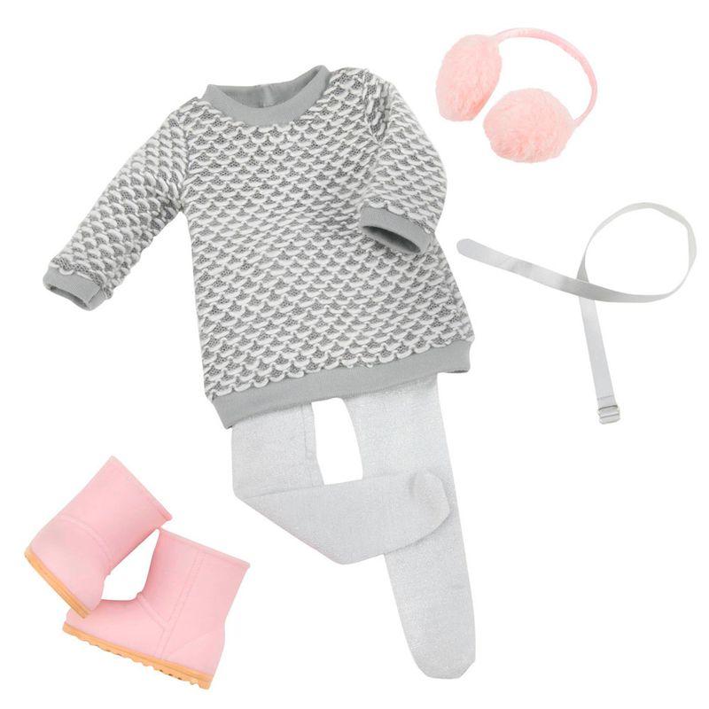 31ec5b14f Conjunto Roupas para Bonecas - Our Generation - Casaco de Inverno - Ri  Happy Brinquedos