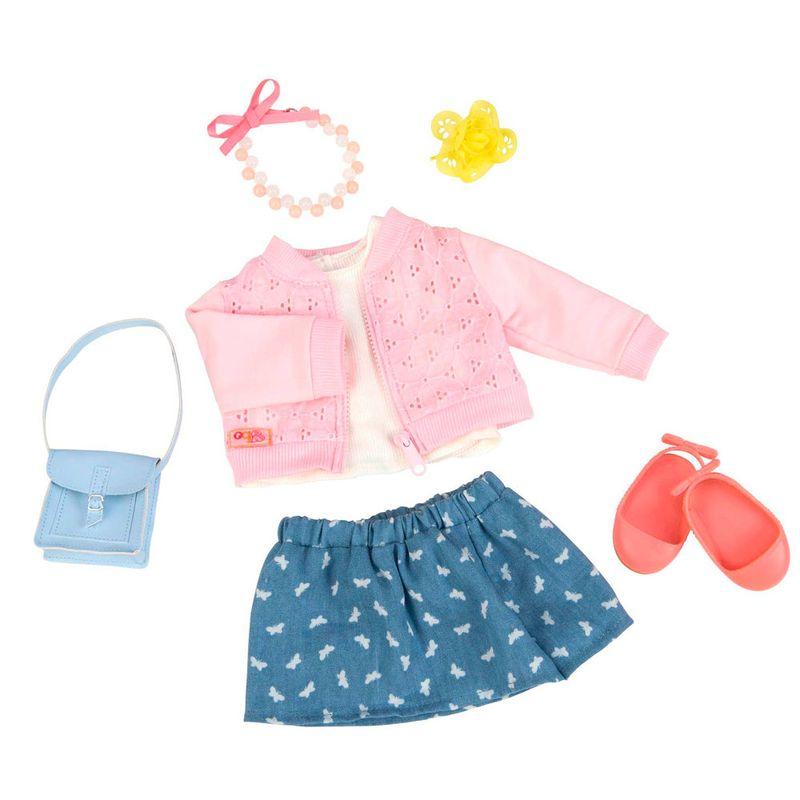 24268294d Conjunto Roupas para Bonecas - Our Generation - Conjunto Casaquinho Rosa e  Saia - Ri Happy Brinquedos