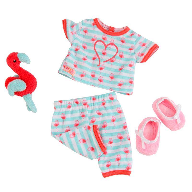 f110125d1 Conjunto Roupas para Bonecas - Our Generation - Pijama de Flamingo - Ri  Happy Brinquedos