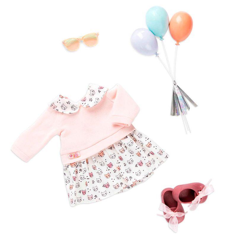 d41fbdcdf Conjunto Roupas para Bonecas - Our Generation - Vestido de Gatinho - Ri  Happy Brinquedos