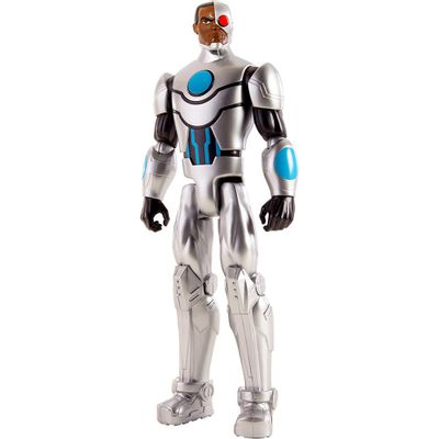 Boneco-Articulado---30-cm---DC-Comics---Liga-da-Justica-Action---Cyborg---Mattel