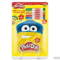 Pinte-e-Lave-Divertido---4-Desenhos---Play-Doh---Fun