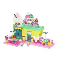 Playset-e-Mini-Figuras---Shopkins---Kinstructions---Sorveteria---DTC