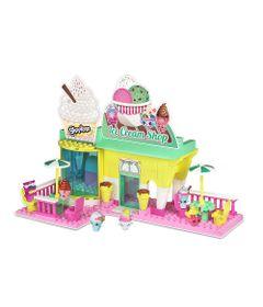Playset-e-Mini-Figuras---Shopkins---Kinstructions---Sorveteria---DTC