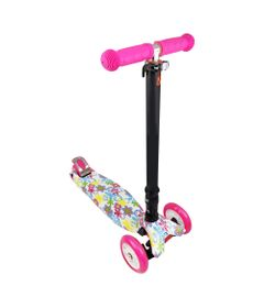 Skatenet-Dobravel---Radical-Flash---Rosa-com-LED---DTC
