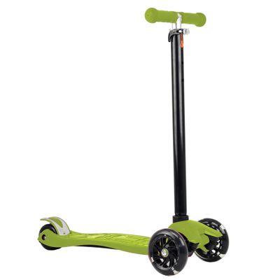 Skatenet---Radical-Flash---Verde-com-LED---DTC