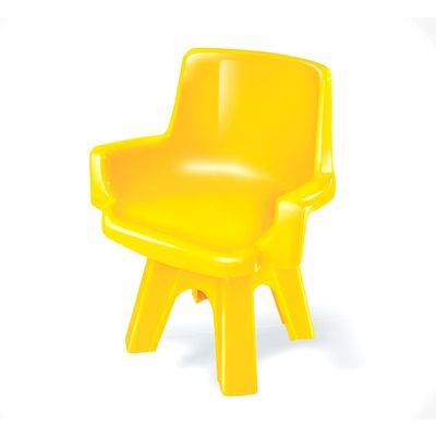Cadeira-Giratoria-Infantil---Amarelo---Lider