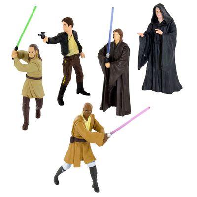 Kit-de-Chaveiros---Mini-Figuras---Disney---Star-Wars---Multikids_Frente
