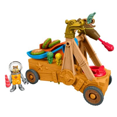 Carro-Hamburger-Imaginext---Catapulta-de-Hamburguer-de-Siri---Fisher-Price
