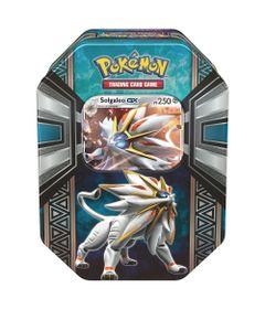 Jogo-Pokemon---Deck-Lata-Pokemon-GX---Lenda-de-Alola---Solgaleo---Copag