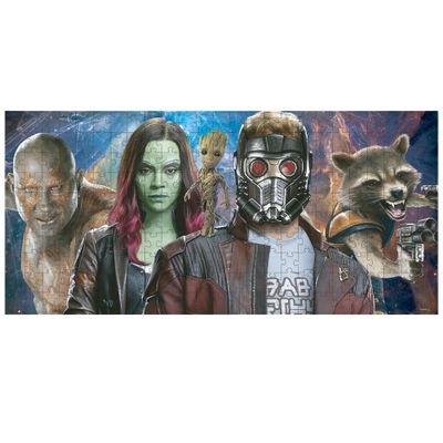 Quebra-Cabeca---250-Pecas---Disney---Marvel---Guardioes-da-Galaxia---Toyster