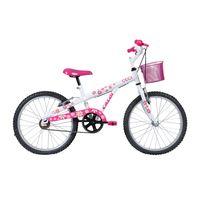 Bicicleta-Infanto-Juvenil-Aro-20---Ceci---Branca---Caloi