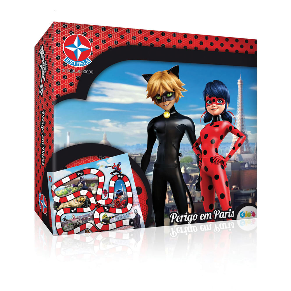 Jogo Perigo em Paris - Miraculous - Ladybug - Estrela