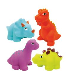Kit-Amiguinhos-do-Banho-com-6---Dinossauros---Soft-Baby---Yes-Toys