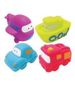 Kit-Amiguinhos-do-Banho-com-6---Veiculos---Soft-Baby---Yes-Toys
