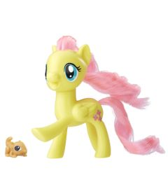 Mini-Figura-My-Little-Pony-Movie---Fluttershy-e-Pet---Hasbro
