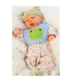 Boneca-Adora-Doll---Reborn---Sleepy-Frog---Shiny-Toys