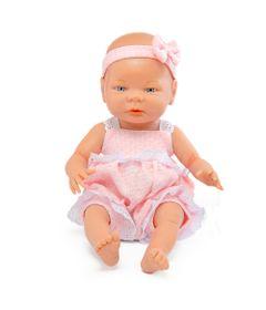 Boneca-Bebe-e-Acessorios---45-Cm---Engorda-Bebe---Boneca-com-Vestido---Roma