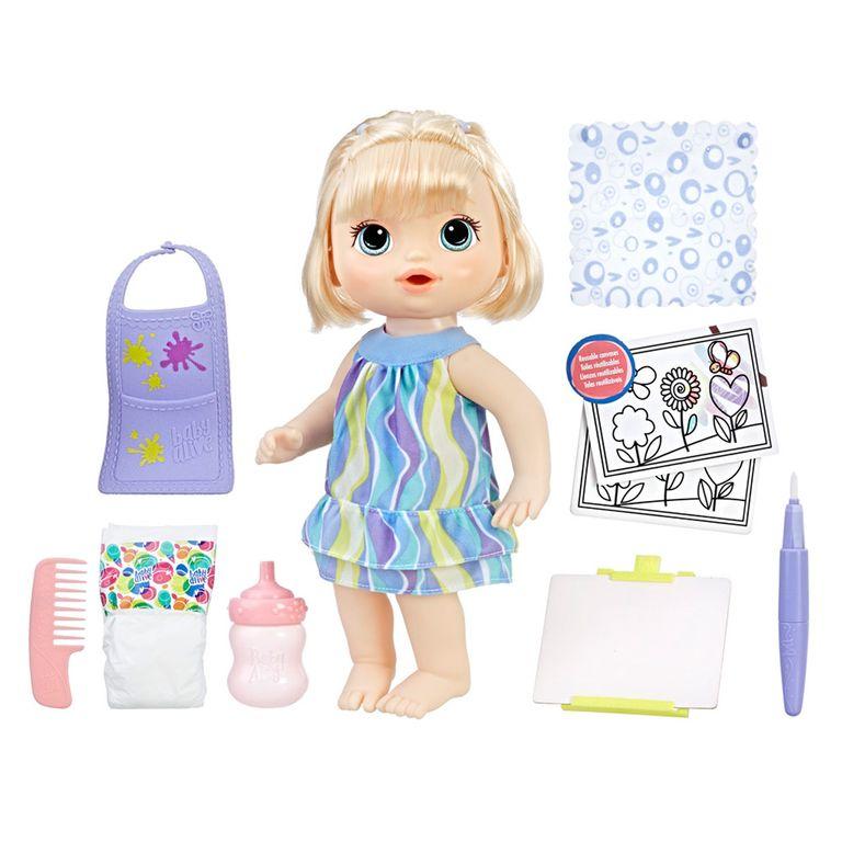 Boneca Baby Alive 30 Cm Loira Pequena Artista C0960 Hasbro