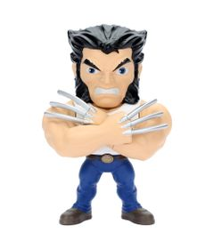 Figura-Colecionavel-10-cm---Metals-Die-Cast---Marvel---X-Men---Logan---DTC