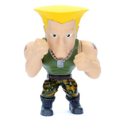 Figura-Colecionavel-10-cm---Metals-Die-Cast---Street-Fighter---Guile---DTC