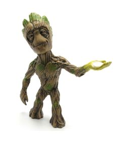 Figura-Colecionavel-15-cm---Metals-Die-Cast---Marvel---Guardioes-da-Galaxia---Groot---DTC