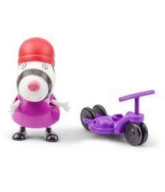 Figura-com-Acessorio---10-cm---Peppa-Pig---Suzy-com-Patinete---DTC