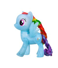 Figura-My-Little-Pony-com-Luz---20-cm---Amigas-Brilhantes---Rainbow-Dash---Hasbro