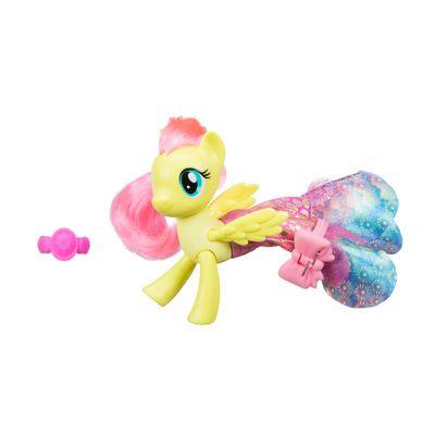 Figura-My-Little-Pony-Movie---15-cm---Moda-Terrestre-e-Marinha---Fluttershy---Hasbro