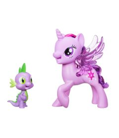 Figuras-My-Little-Pony-Movie---Vamos-Cantar-Juntos---Princess-Twilight-Sparkle-e-Spike-the-Dragon---Hasbro