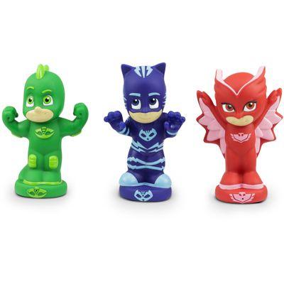 Figuras-que-Esguicham-Agua---12-cm---PJ-Masks---Menino-Gato-Corujita-e-Lagartixo---DTC
