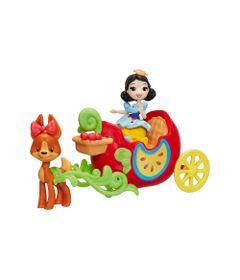 Mini-Boneca-com-Acessorios---Princesas-Disney---Branca-de-Neve-e-a-Carruagem-de-Maca---Hasbro