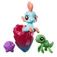 Mini-Figura-My-Little-Pony-com-Acessorios---Mini-Ponei-Sereia---Bubble-Splash---Hasbro