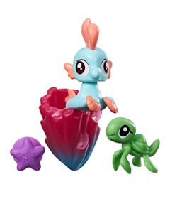 Mini-Figura-My-Little-Pony-com-Acessorios---Mini-Ponei-Sereia---Bubble-Splash---Hasbro