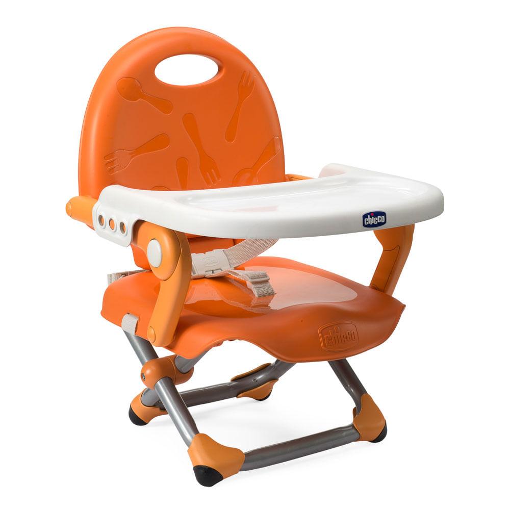 Cadeira de Alimentação - Pocket Snack - Mandarino - Chicco