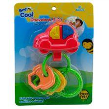 Chocalho-e-Chaveirinhos---Bee-Cool---Carrinho-com-Argolas---Bee-Me-Toys