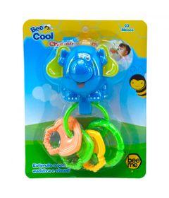 Chocalho-e-Chaveirinhos---Bee-Cool---Elefante-com-Argolas---Bee-Me-Toys